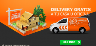 Delivery Gratis by Aeropaq