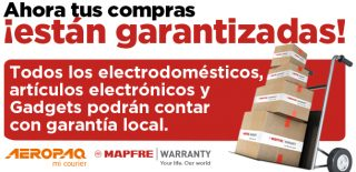 Mapfre Warranty for electronics, gadgets and appliances.