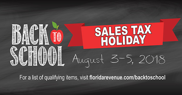 Regresa el Back to School Sales Tax Holiday Weekend