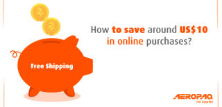 How to save around US$10 in online purchases?