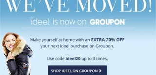 Ideel moved house and is now Groupon