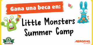 ¡Gana una beca para el campamento Little Monsters by Media Cancha!